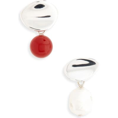 Faris Sina Pearl Drop Earrings