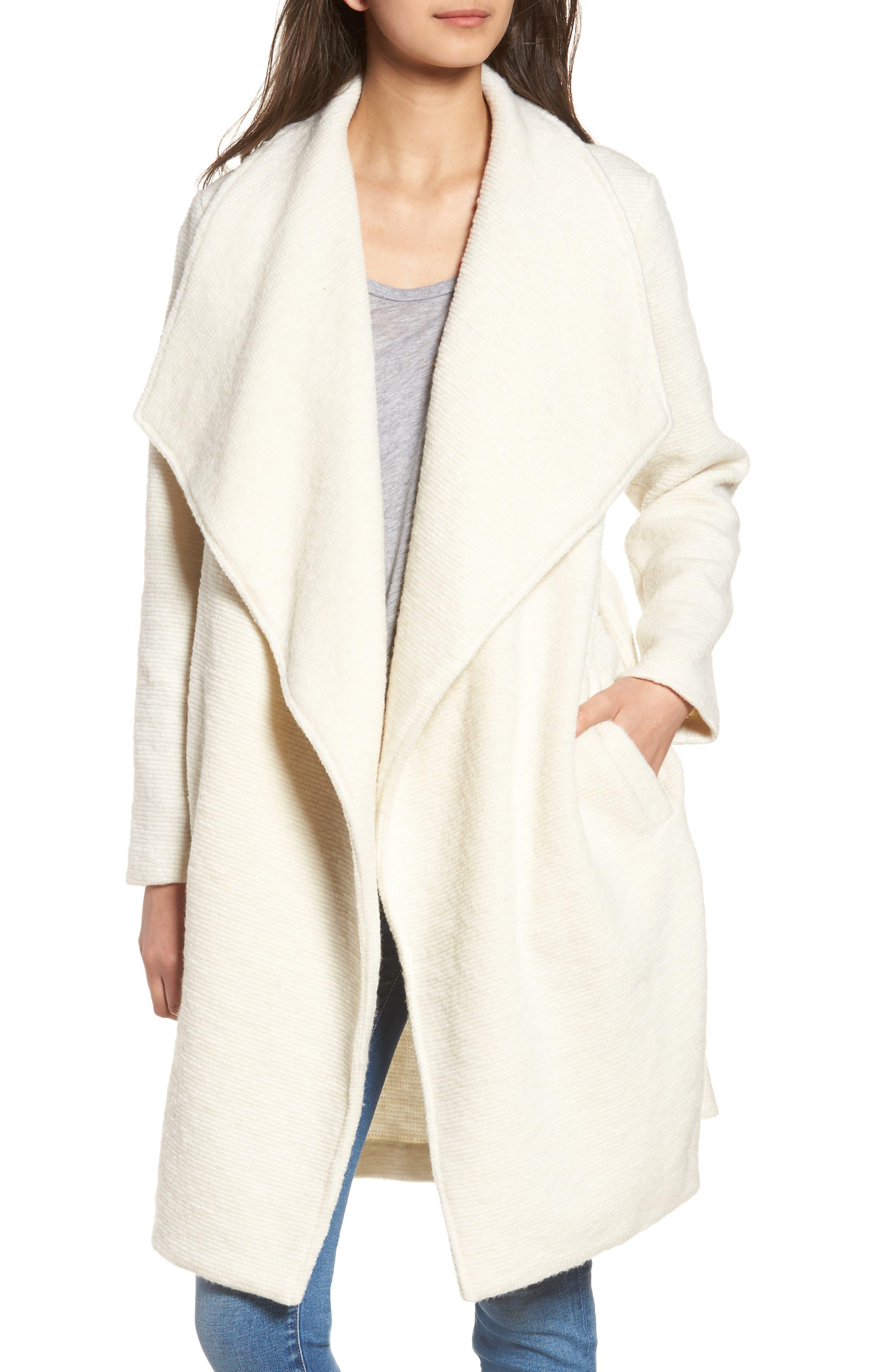 ,                             Issac Ribbed Blanket Coat,                             Alternate thumbnail 9, color,                             110