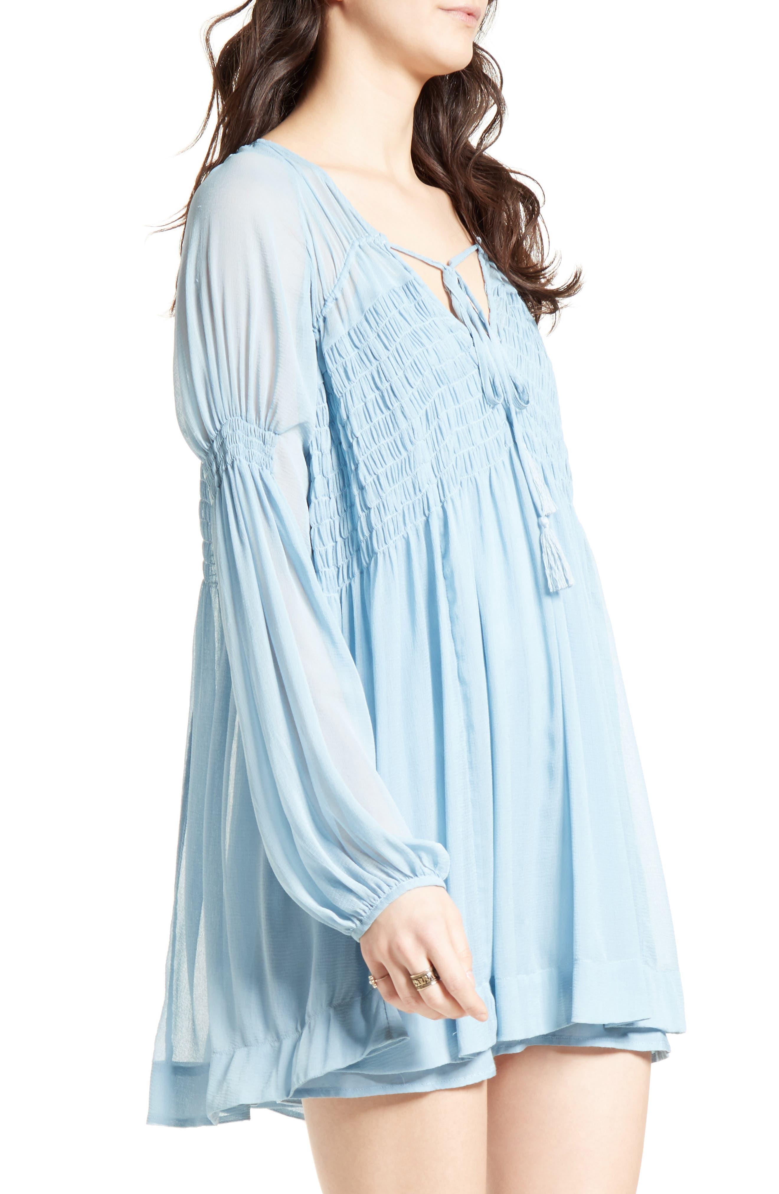 ,                             Lini Babydoll Dress,                             Alternate thumbnail 10, color,                             400