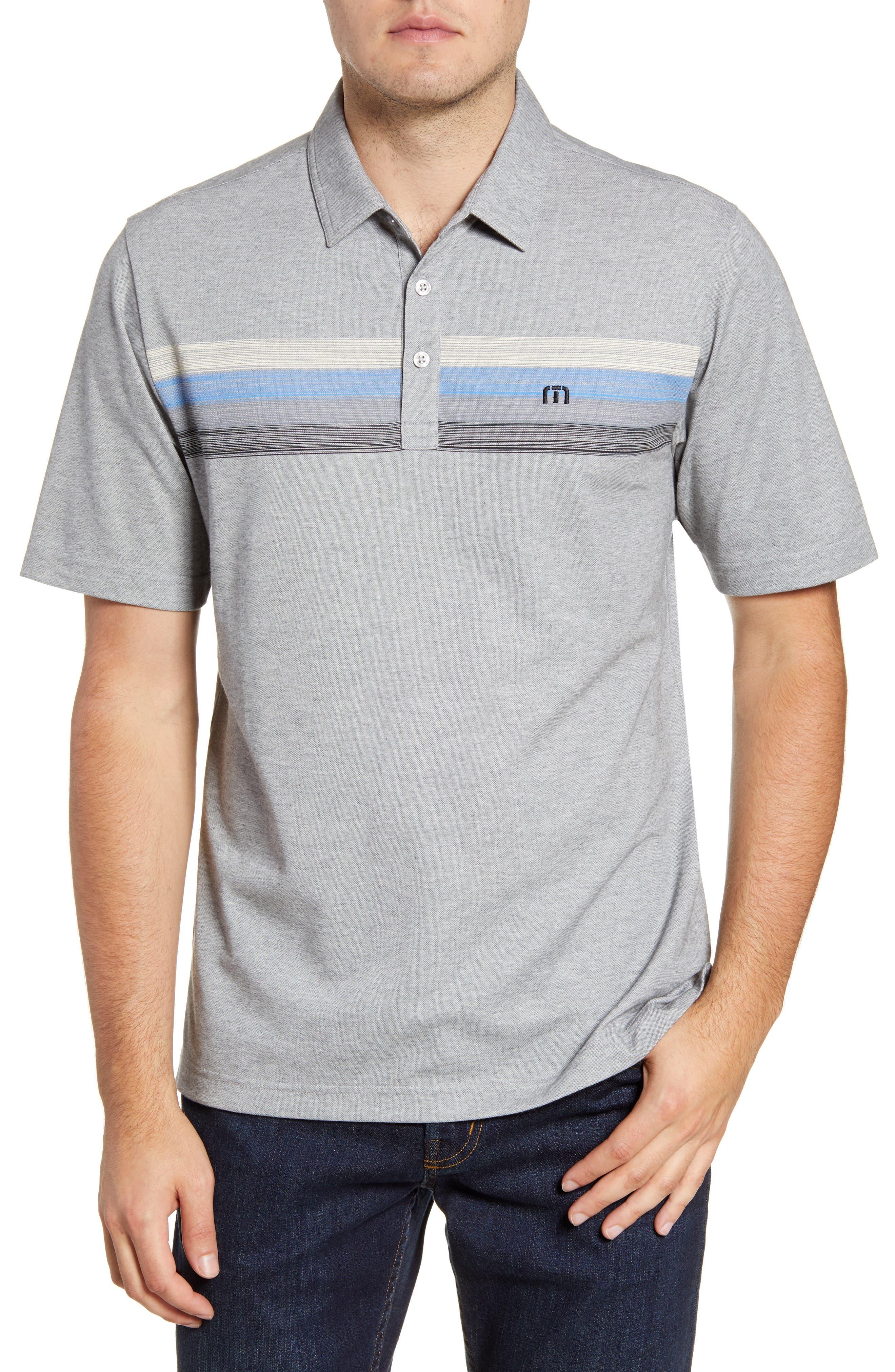Image of TRAVIS MATHEW Mindsurfing Short Sleeve Polo