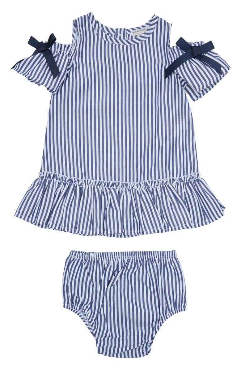 HABITUAL Kids Nancy Cold Shoulder Dress, Main, color, 400