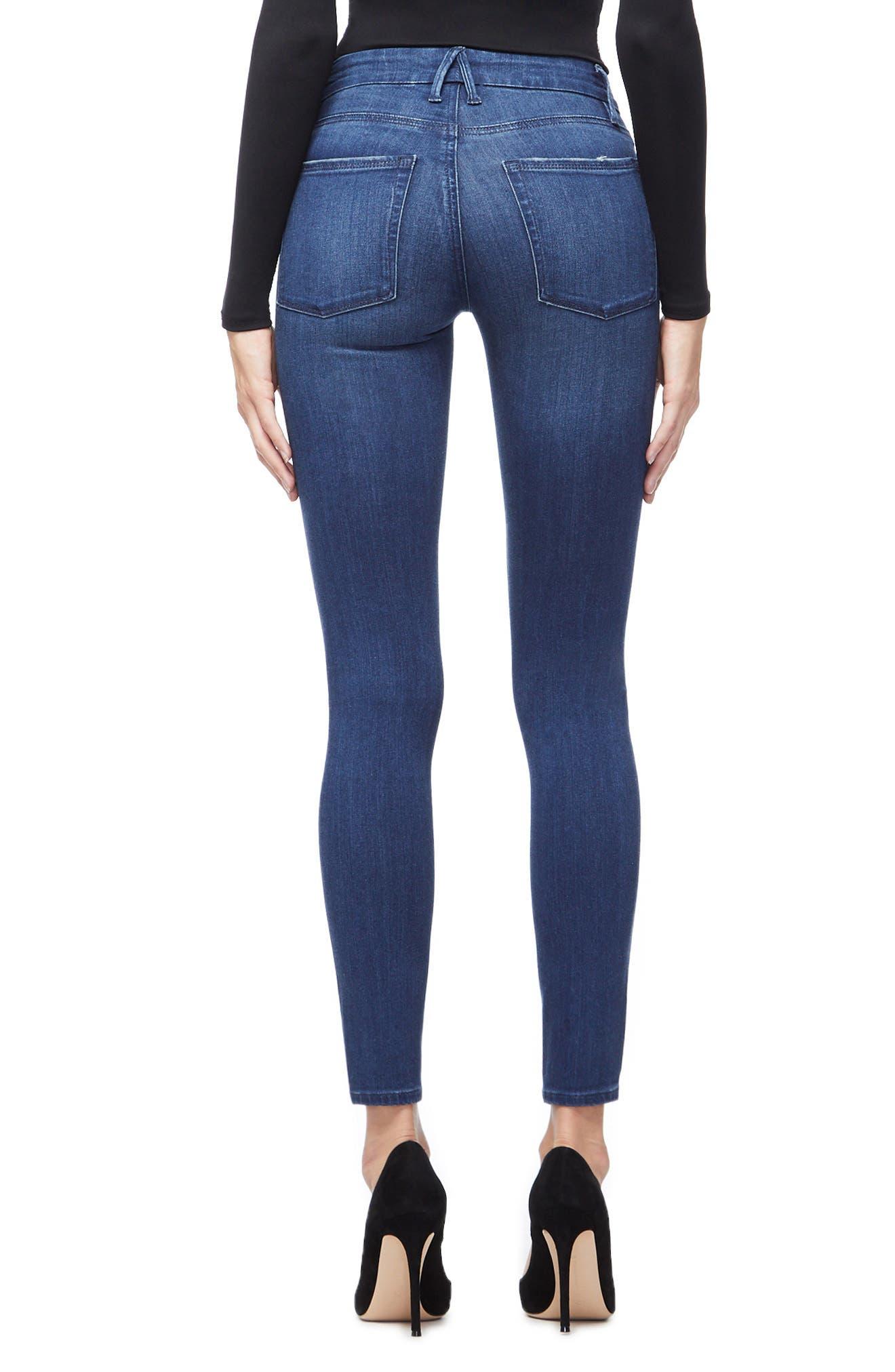 ,                             Good Legs High Waist Skinny Jeans,                             Alternate thumbnail 2, color,                             BLUE211