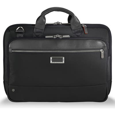 Briggs & Riley @work Slim Briefcase - Black