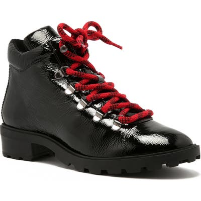 Schutz Nicea Hiking Boot, Black