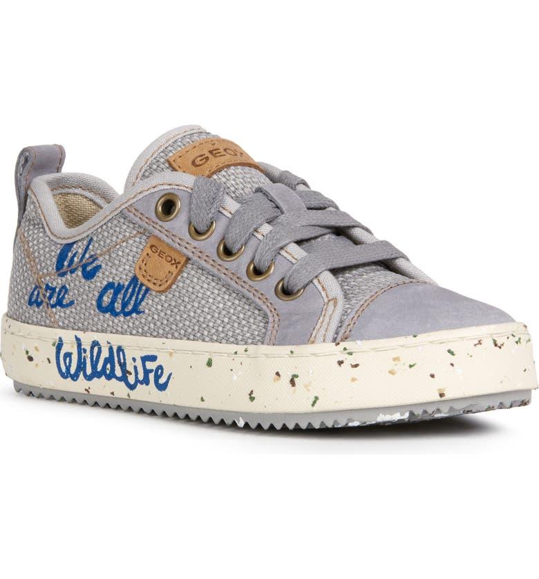 GEOX Alonisso 48 Sneaker, Main, color, GREY