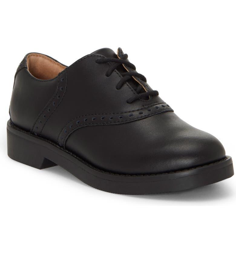 FIRST SEMESTER Hoppy Saddle Shoe, Main, color, BLACK