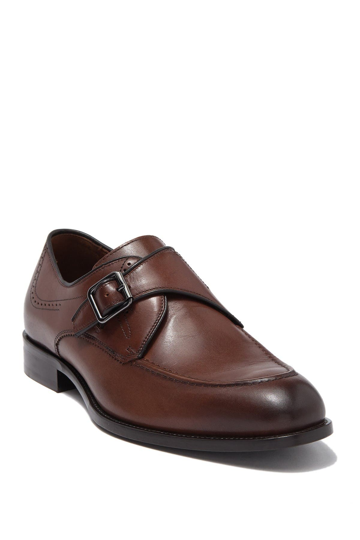 Image of Johnston & Murphy Evanston Monk Strap Shoe