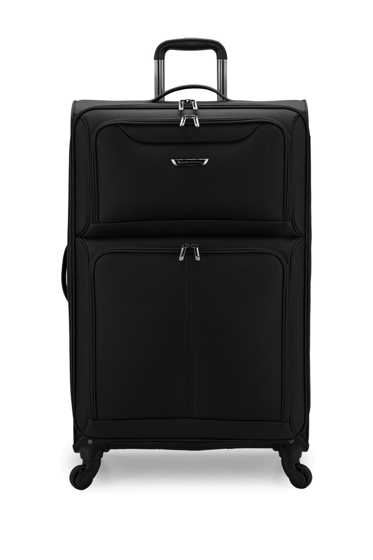 "Image of Traveler's Choice Luggage Cedar 31"" Softside Spinner"