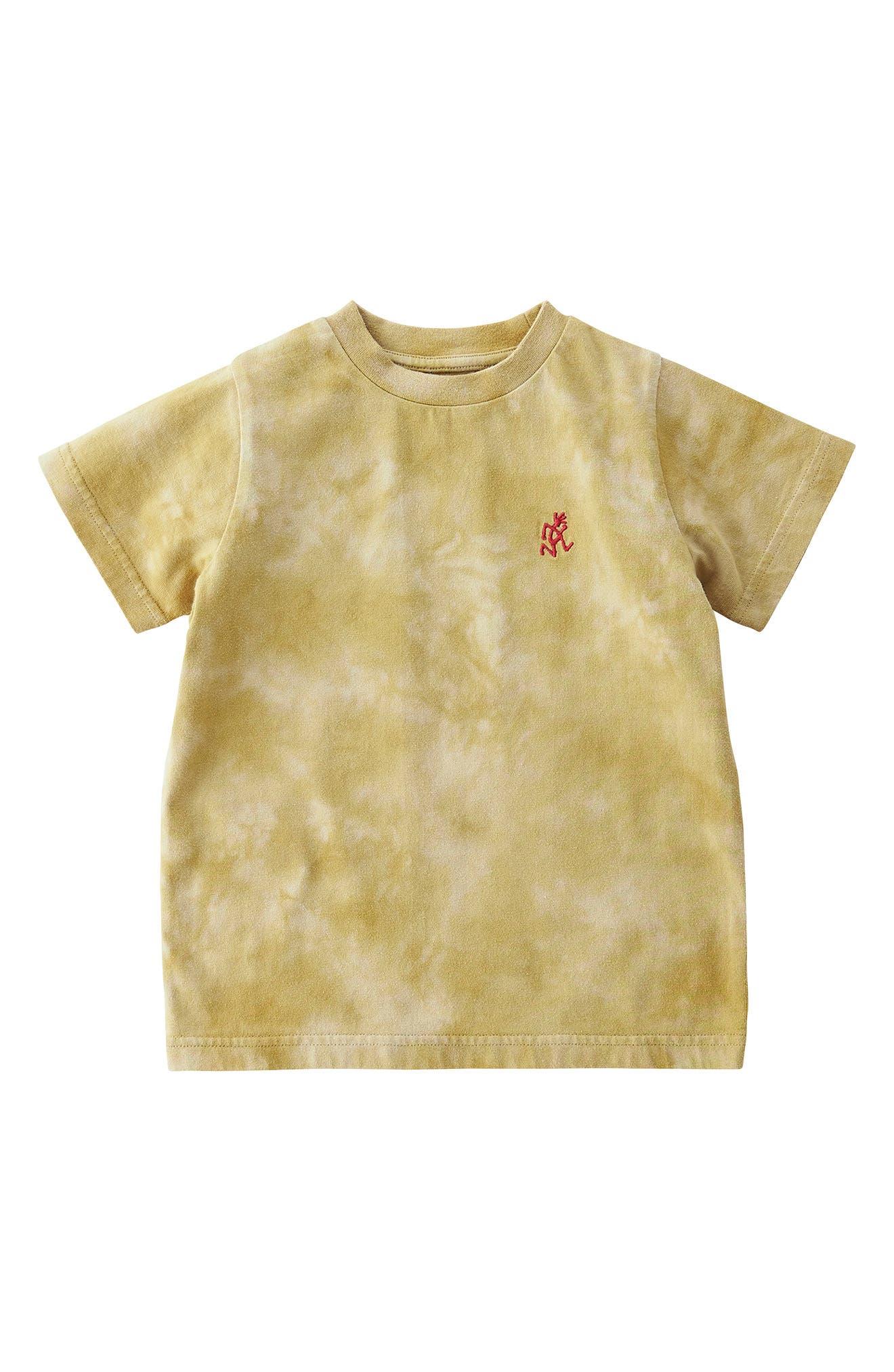 Kids' Running Man Embroidered Tie Dye T-Shirt