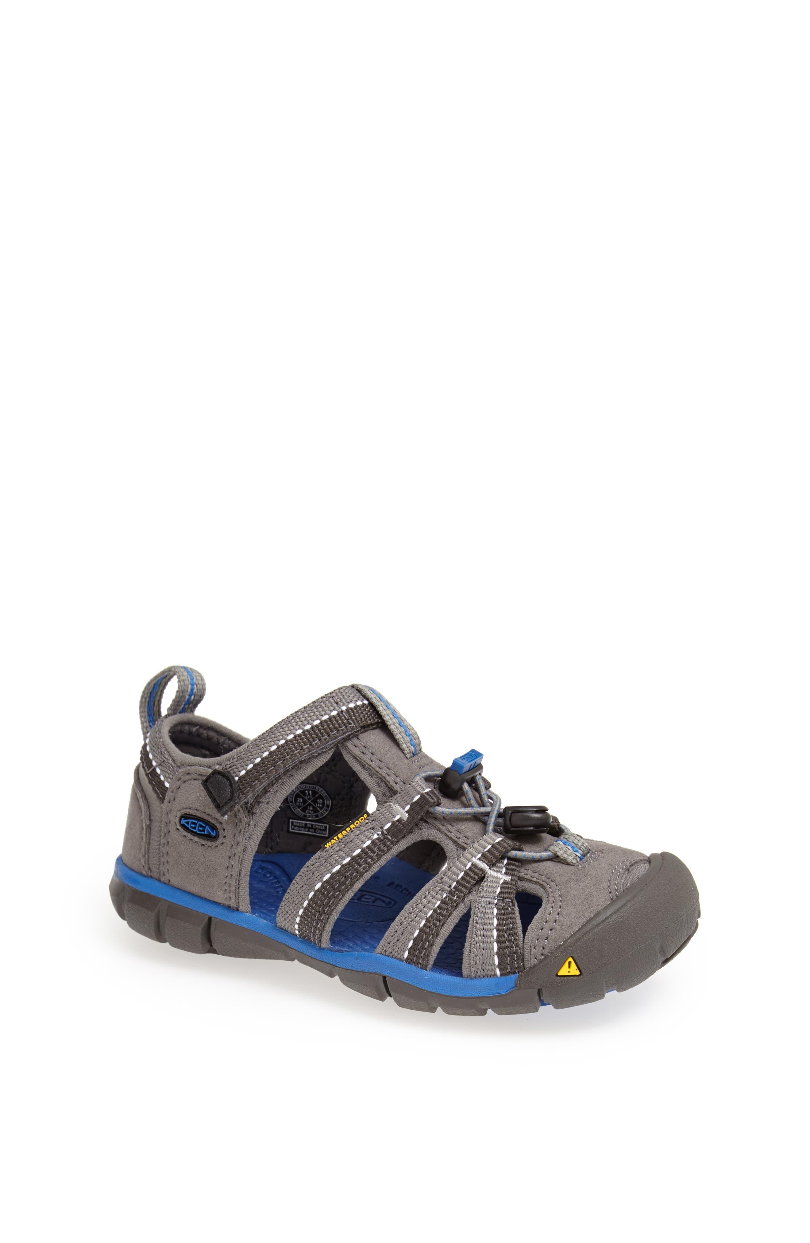 ,                             'Seacamp II' Water Friendly Sandal,                             Main thumbnail 110, color,                             020