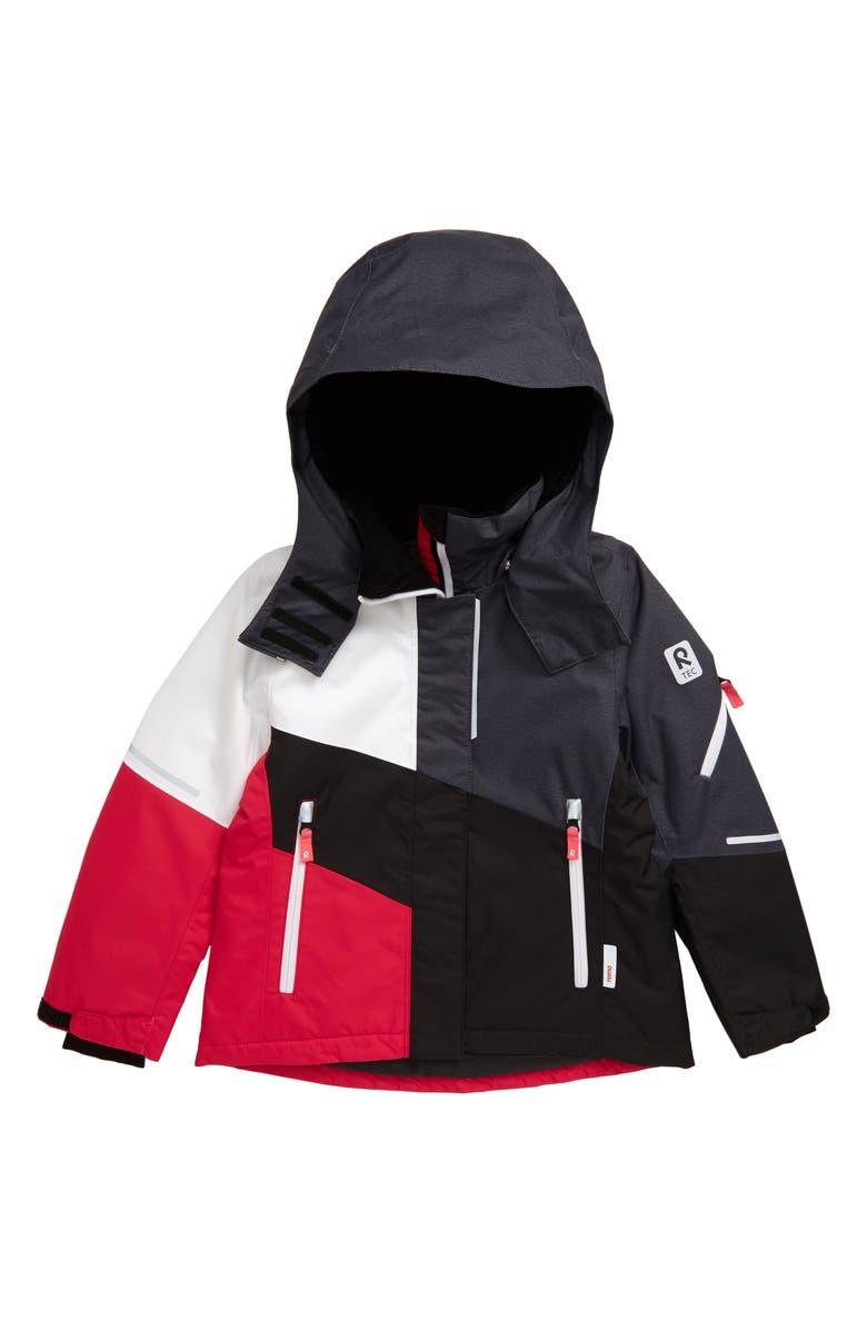 REIMA Reimatec<sup>®</sup> Seal Winter Hooded Ski Jacket, Main, color, PINK
