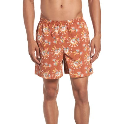 Patagonia Baggies 5-Inch Swim Trunks, Orange