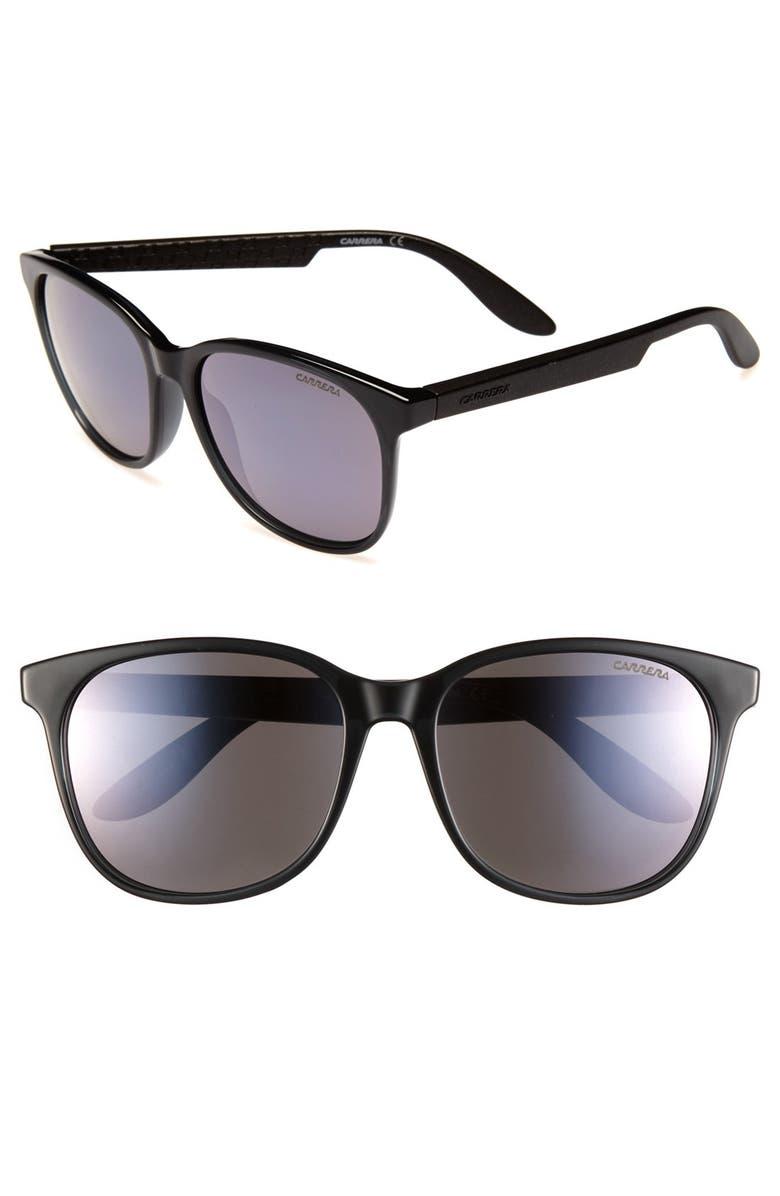 CARRERA EYEWEAR '5001' 56mm Sunglasses, Main, color, 020