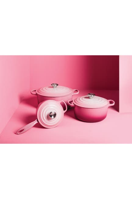 Image of Le Creuset Limited Time Berry Ombre 4.5 qt. Signature Round Dutch Oven
