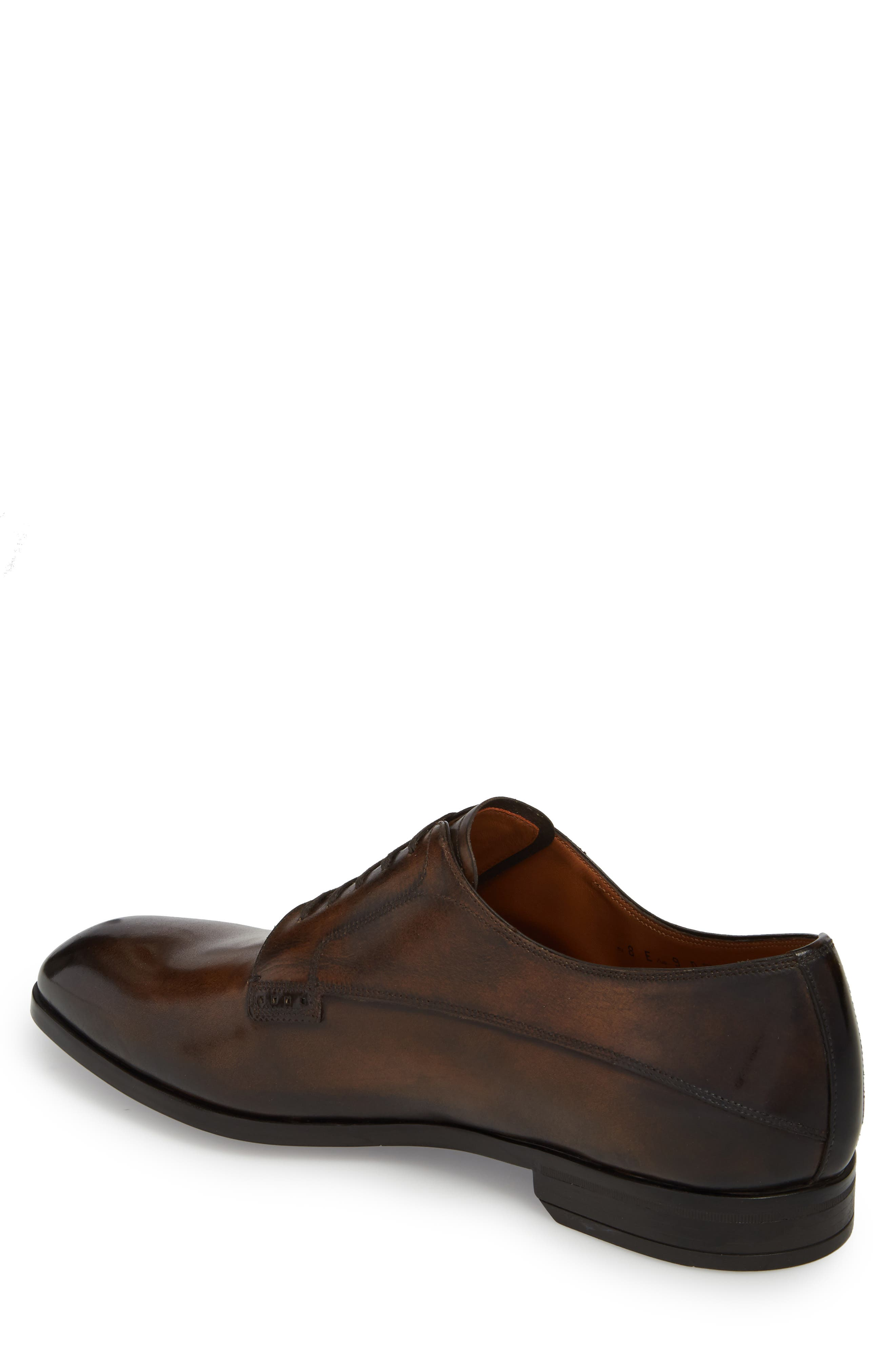 ,                             Lantel Plain Toe Derby,                             Alternate thumbnail 2, color,                             MID BROWN