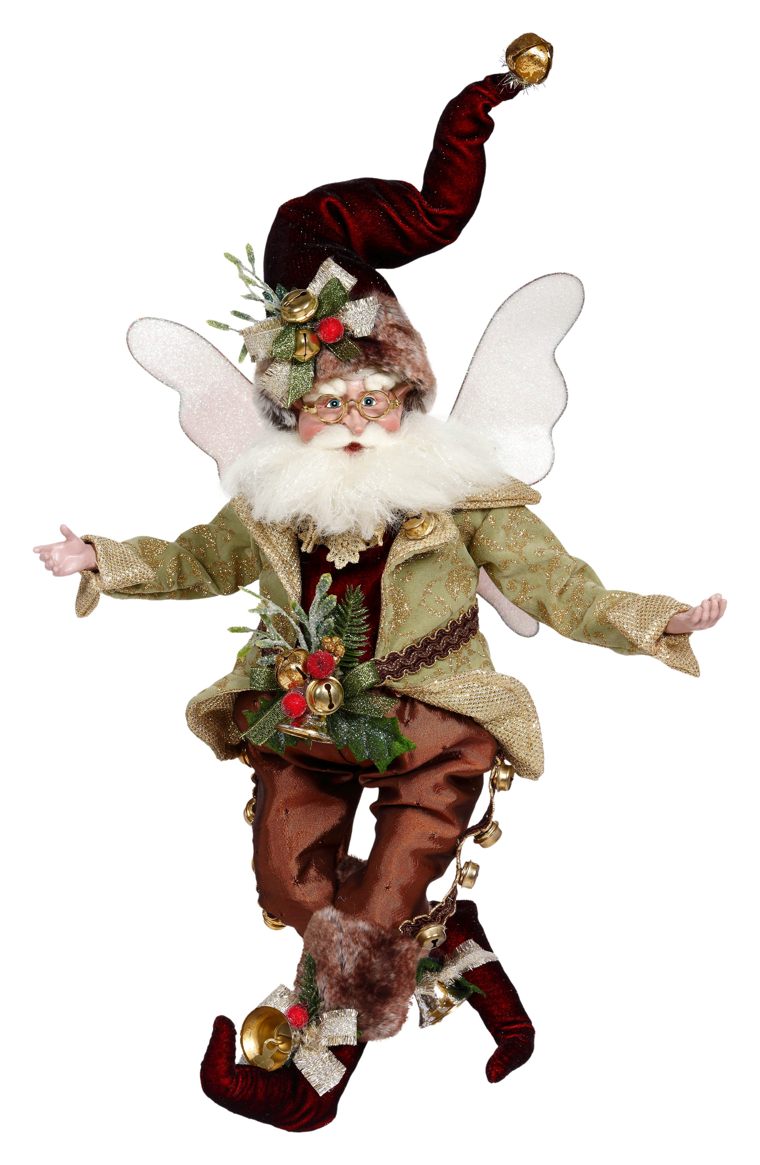 Image of Mark Roberts Jingles Fairy - Green Multi
