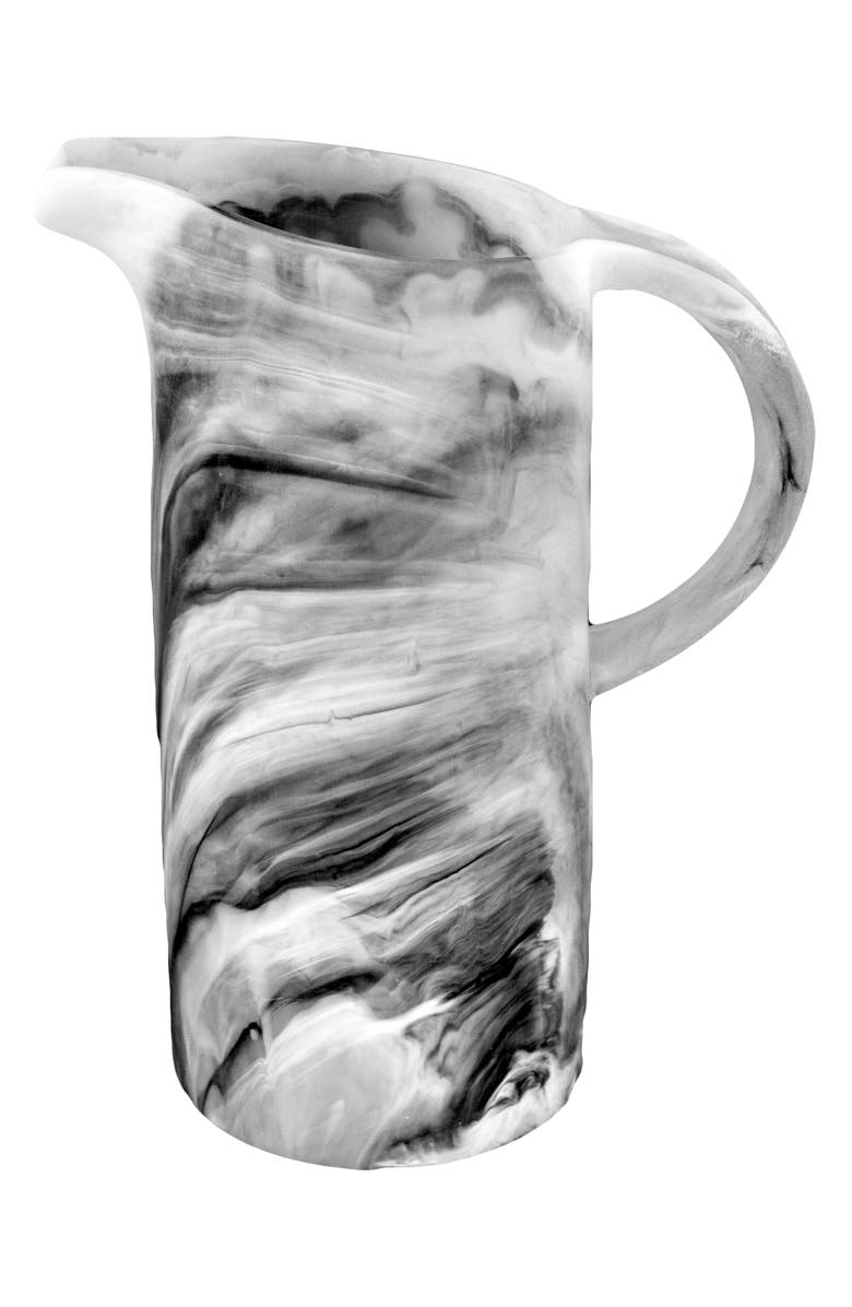 NASHI HOME Classical Pitcher, Main, color, BLACK SWIRL