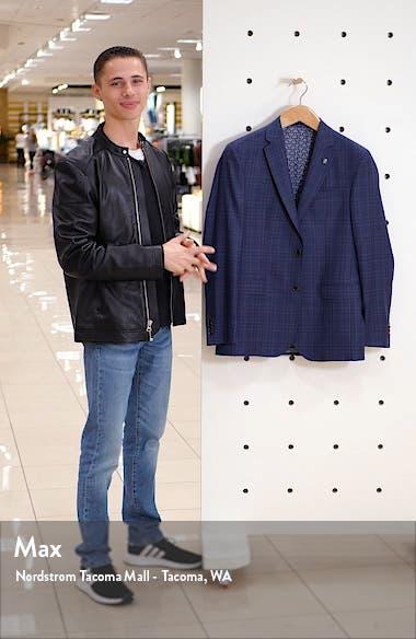Roger Trim Fit Plaid Wool Sport Coat, sales video thumbnail