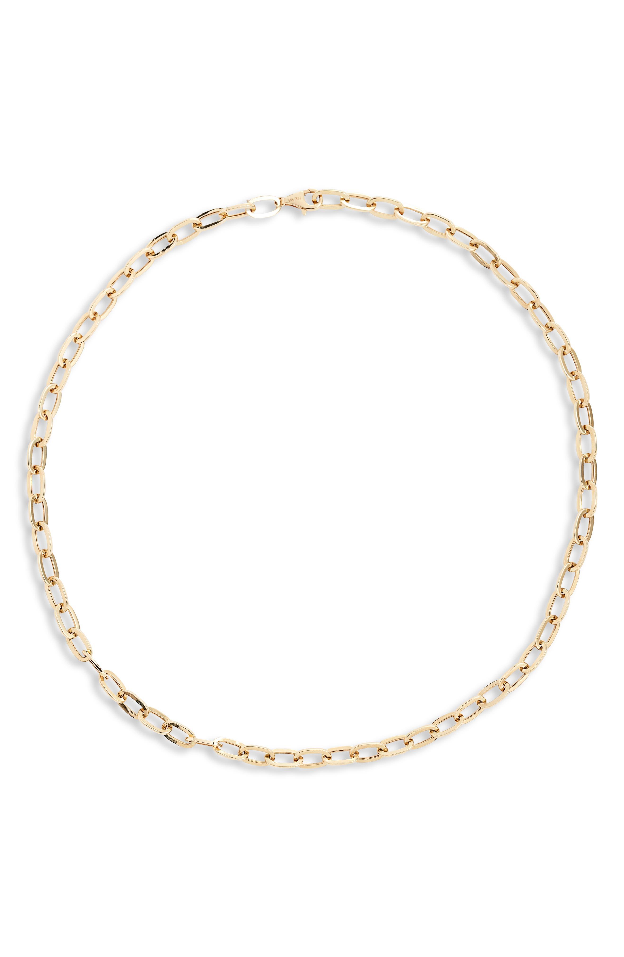 Jumbo Link 14K Gold Necklace