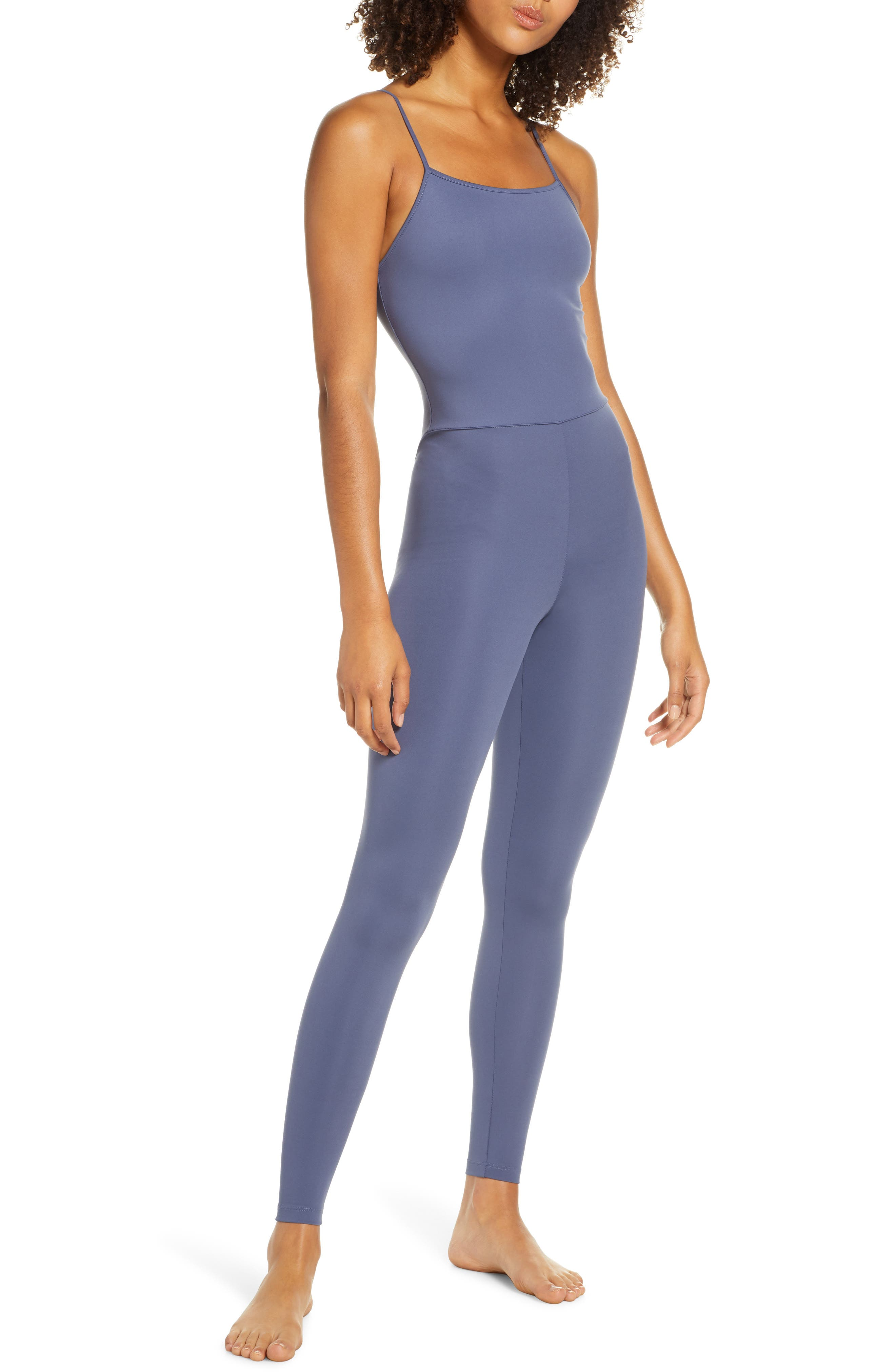 Girlfriend Collective Unitard, Blue