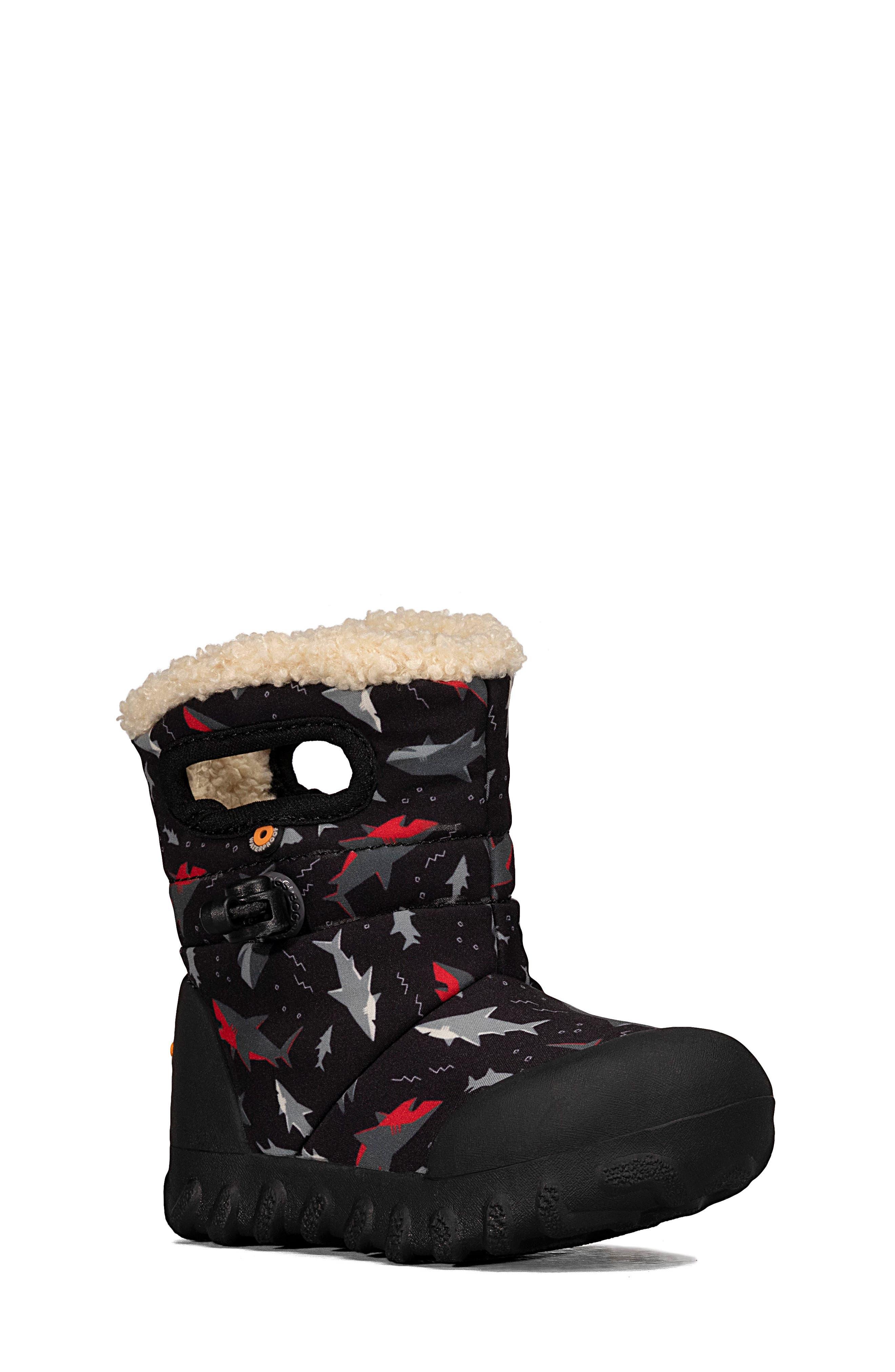 BOGS Kids Snowday Boot Size 4 M US Big Kid Grape