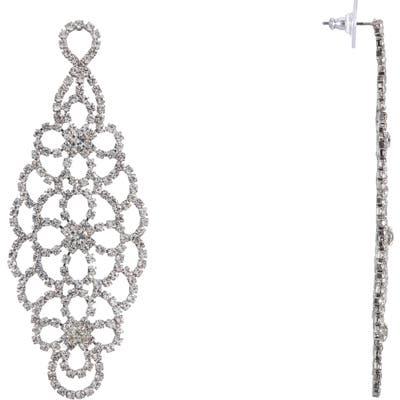 Nina Cup Chain Chandelier Earrings