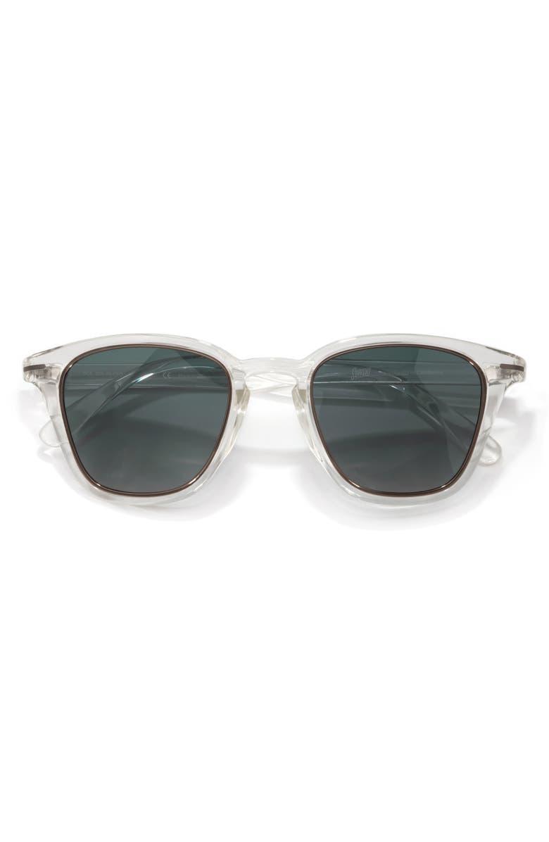 SUNSKI Andiamo 50mm Polarized Sunglasses, Main, color, CLEAR FOREST