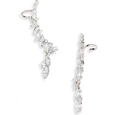 Nadri Tango Climber Drop Earrings