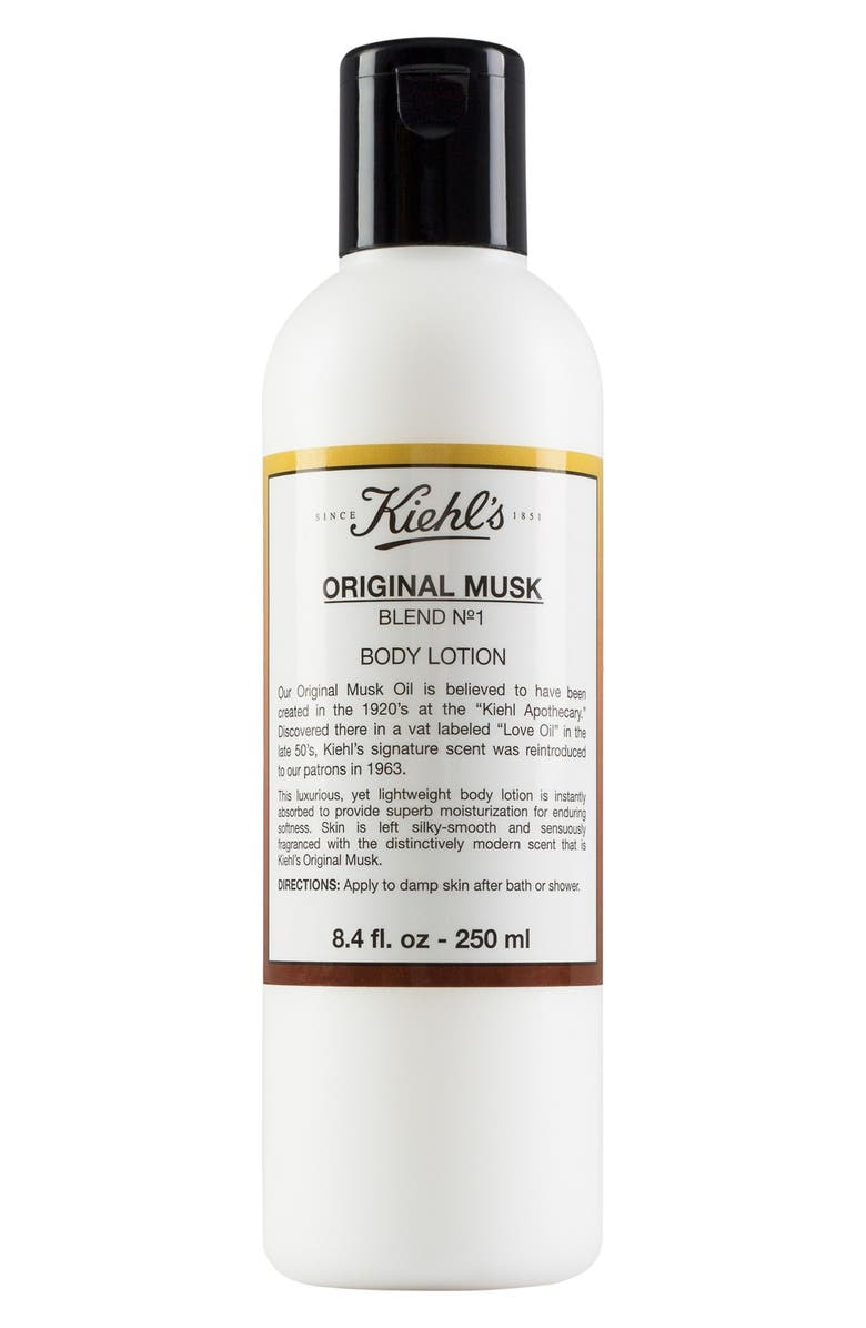 KIEHL'S SINCE 1851 Original Musk Body Lotion, Main, color, 000