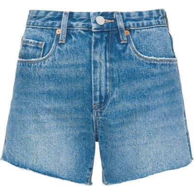 Blanknyc Denim Mom Shorts, Blue