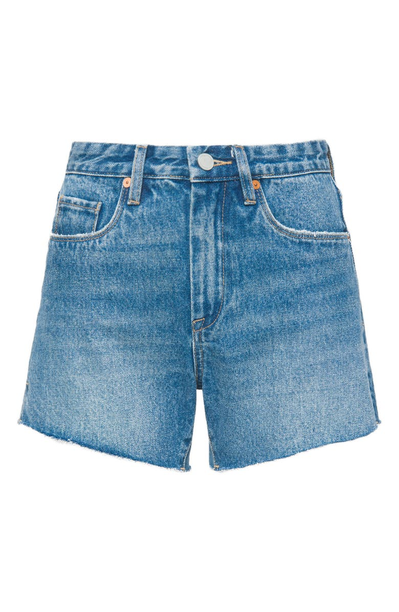BLANKNYC Denim Mom Shorts, Main, color, GOOD VIBRATIONS