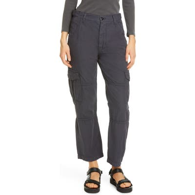 Nsf Clothing Mercy High Waist Cotton Cargo Pants, Grey