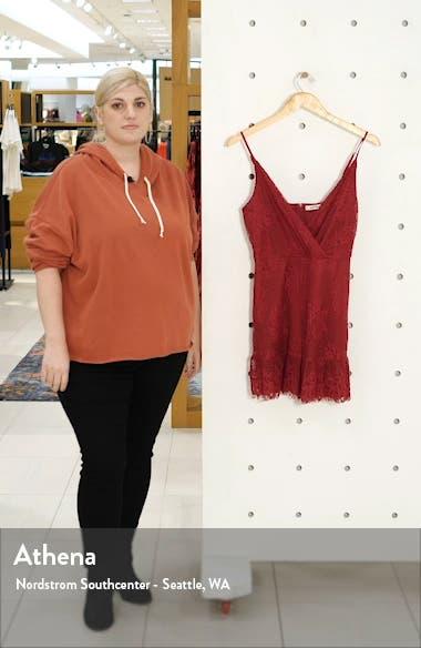 Lace Fit & Flare Minidress, sales video thumbnail