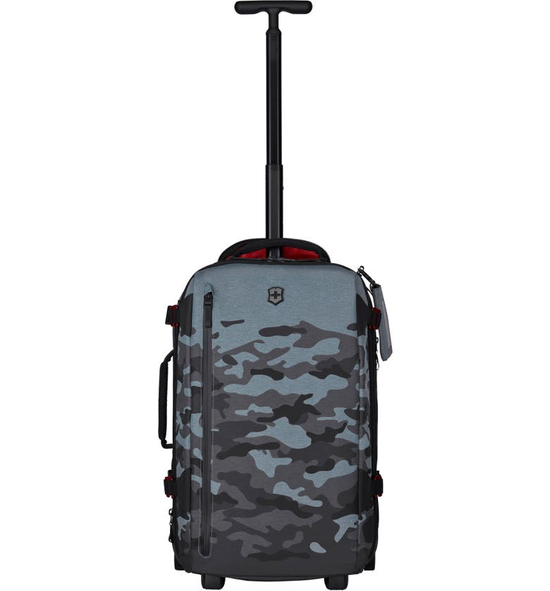 VICTORINOX SWISS ARMY<SUP>®</SUP> VX Touring 22-Inch Wheeled Duffle Bag, Main, color, GREY