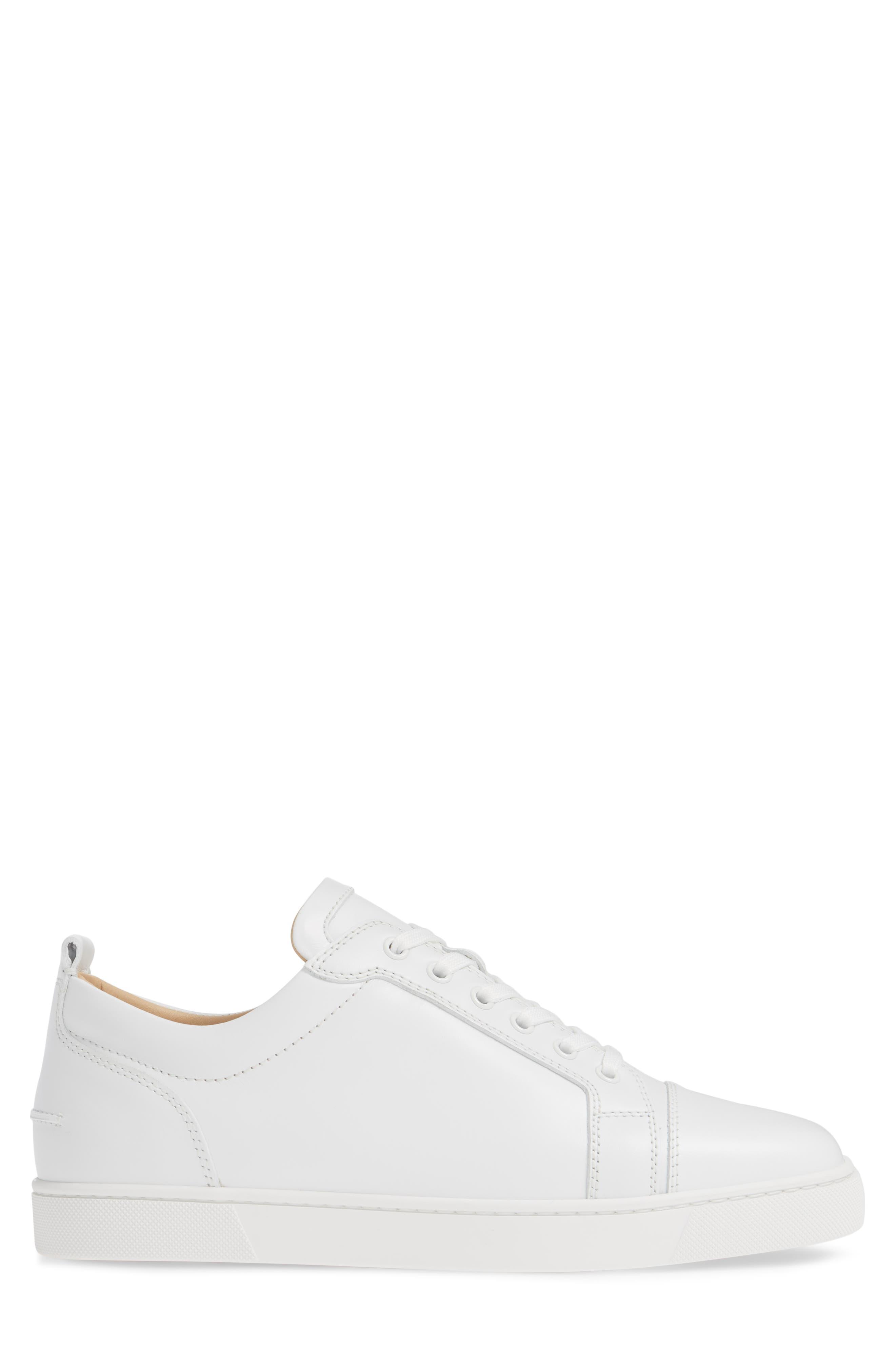 ,                             Louis Junior Low Top Sneaker,                             Alternate thumbnail 3, color,                             WHITE