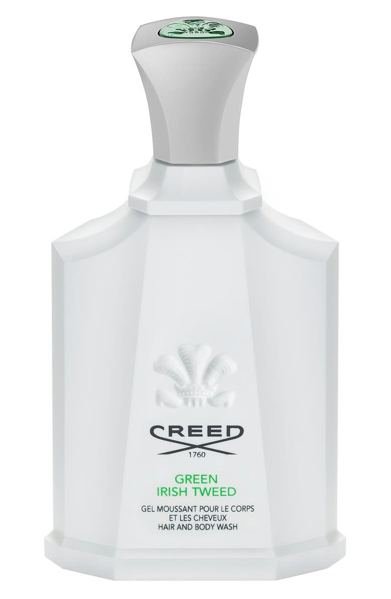 CREED Green Irish Tweed Shower Gel, Main, color, NO COLOR