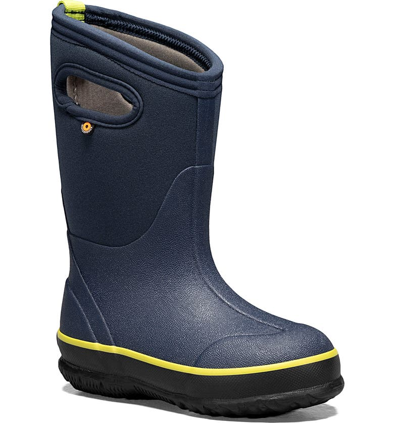 BOGS Neo Classic Insulated Waterproof Boot, Main, color, NAVY