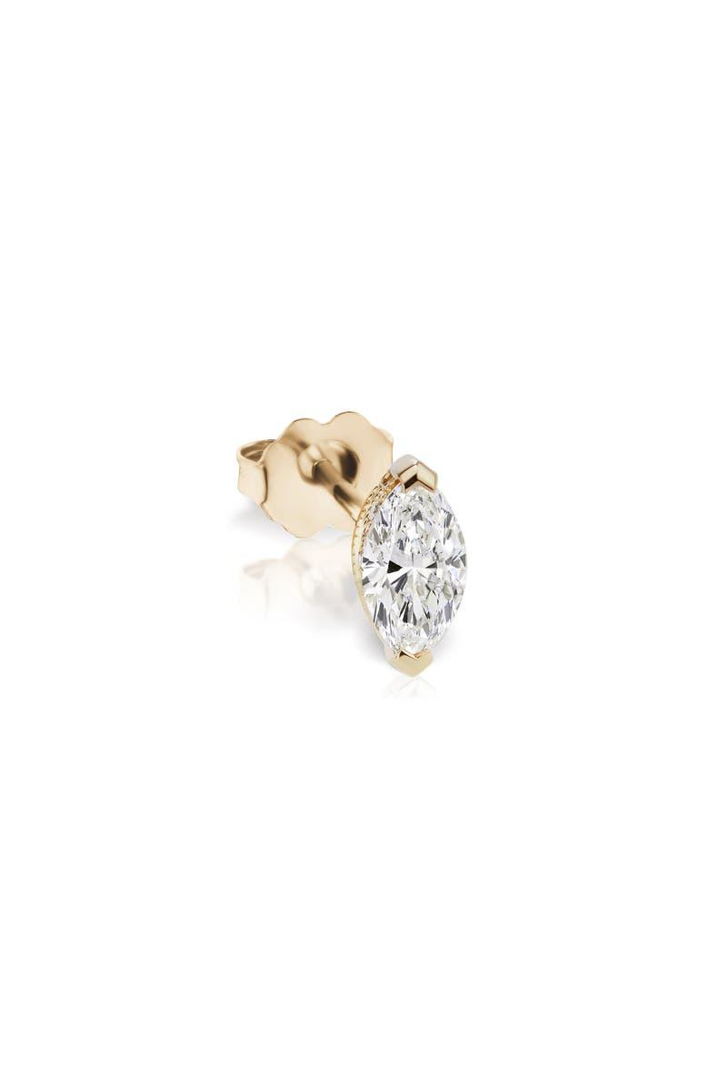 MARIA TASH Marquise Diamond Stud Earring, Main, color, 710
