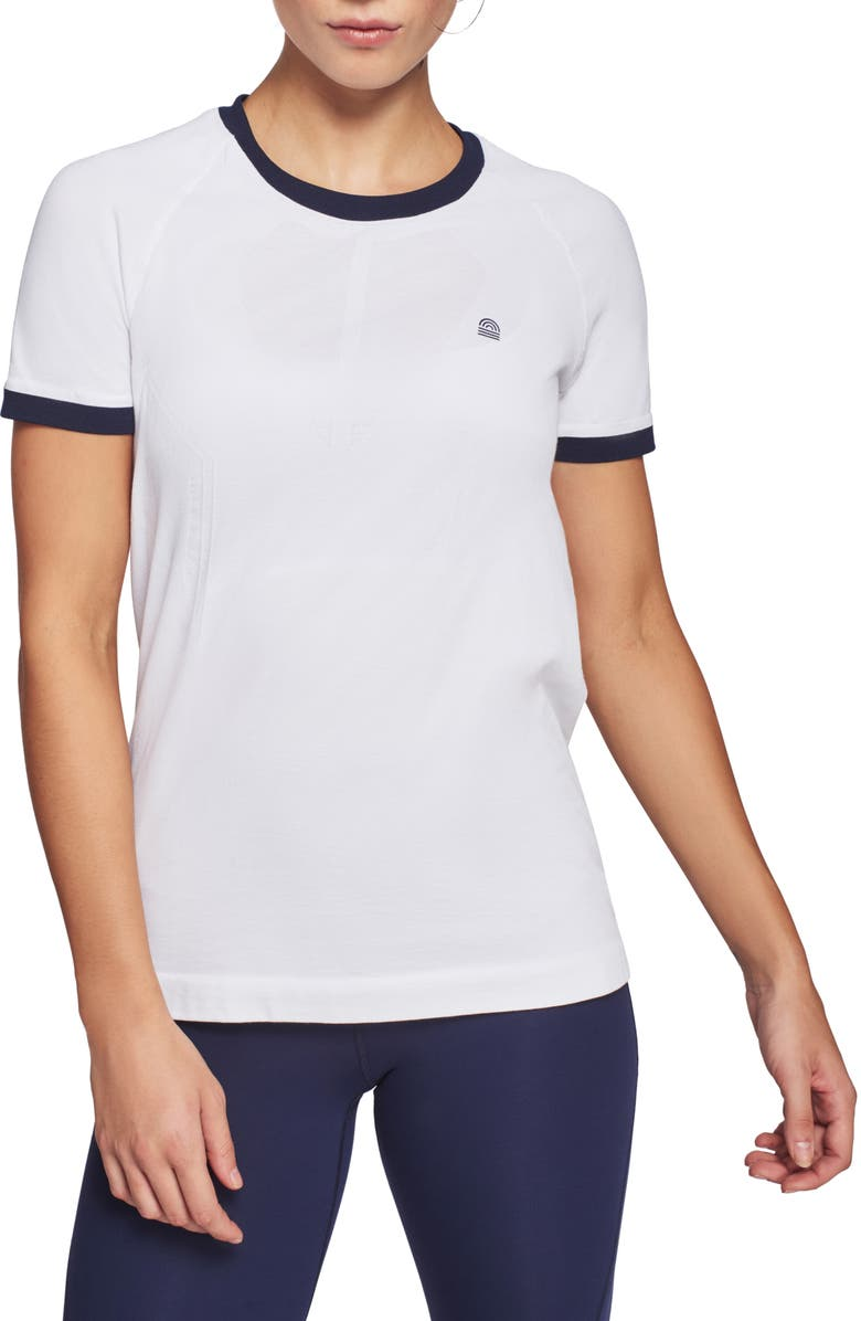 LNDR Cirque Tech Tee, Main, color, WHITE