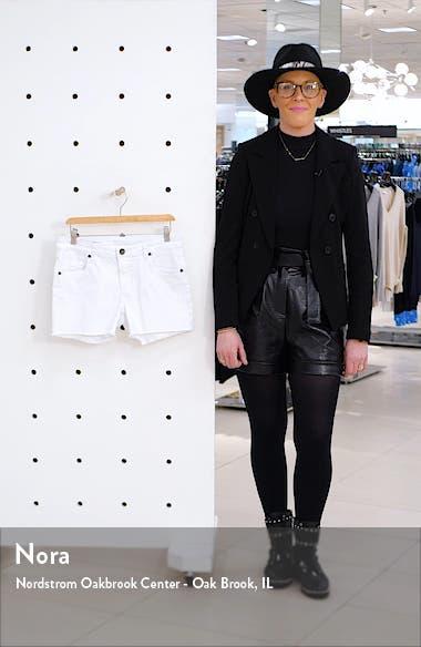 Gidget Raw Hem Shorts, sales video thumbnail
