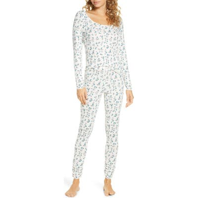 Bp. Hacci Fitted Pajamas, Ivory