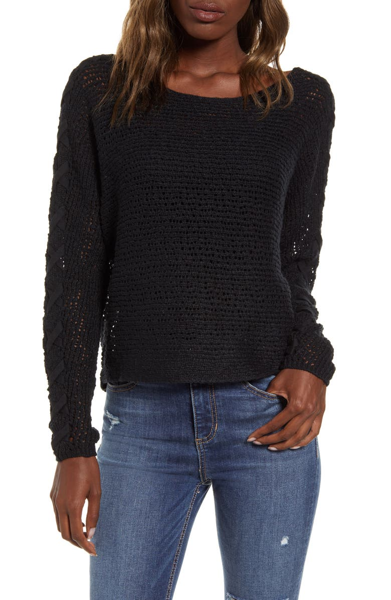 BILLABONG Chill Out Sweater, Main, color, BLACK