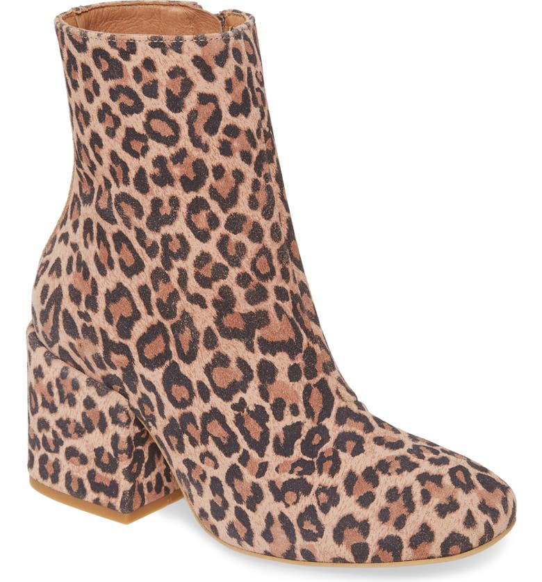FREE PEOPLE Nicola Bootie, Main, color, CHOCOLATE LEATHER