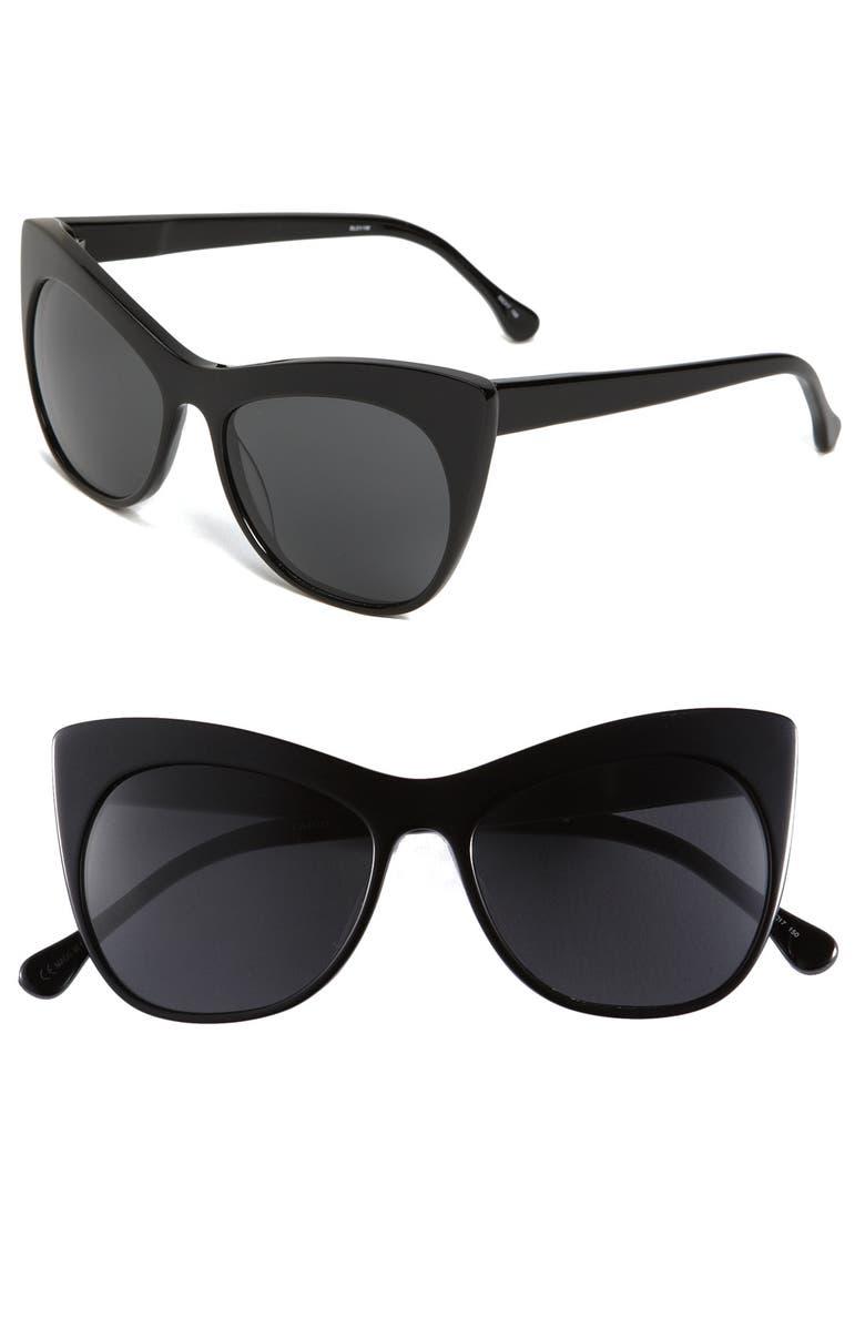 ELIZABETH AND JAMES 'Lafayette' 55mm Sunglasses, Main, color, 001