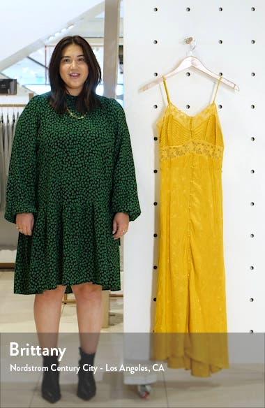 Dreamcatcher Floral Jacquard Maxi Dress, sales video thumbnail