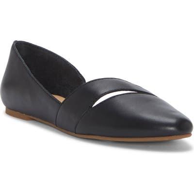 Lucky Brand Ashena Skimmer Flat, Black
