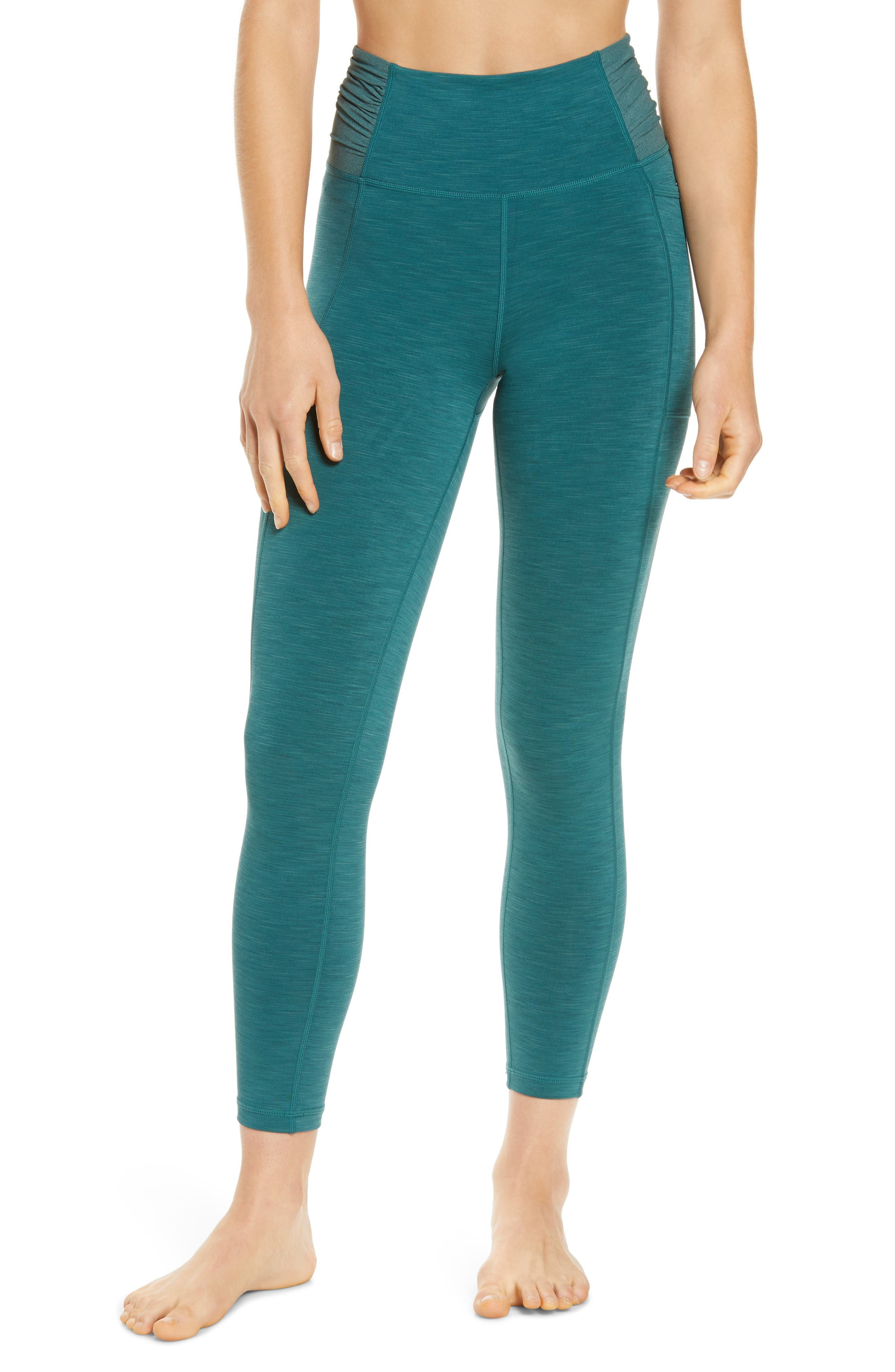 Designed with a comfortable high rise that supports your waist, these action-ready leggings are perfect for your next barre session or yoga class. Style Name: Sweaty Betty Super Sculpt Mesh 7/8 Yoga Leggings. Style Number: 6091351. Available in stores.