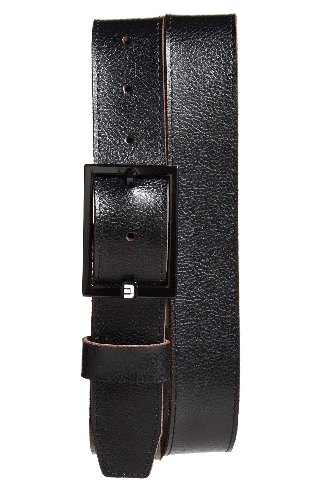 Image of TRAVIS MATHEW Bruno 2 Leather Belt