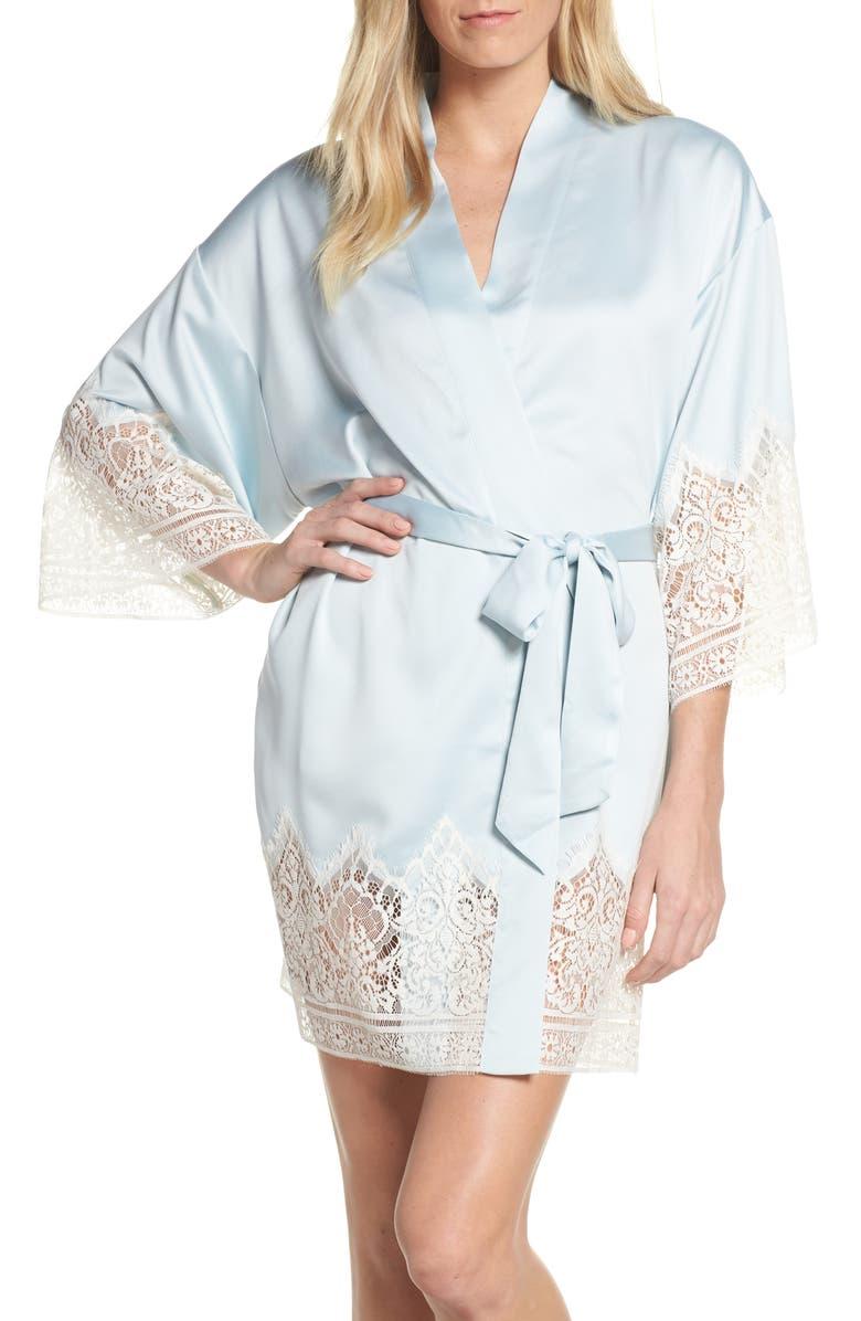 FLORA NIKROOZ Genevive Short Robe, Main, color, 411