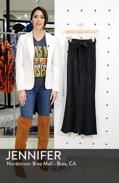 Belted Sweater Pants, sales video thumbnail